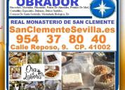 Bizcochos, morenitas, piñonadas, pastas de almen