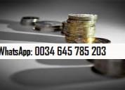 Prestamos de apoyo financiero