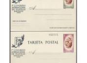 Compro y cambio enteros postales.