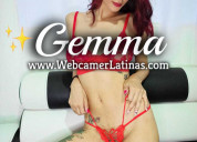 Gemma show erotico en vivo