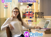 Academia de ingles:clases virtuales de inglés